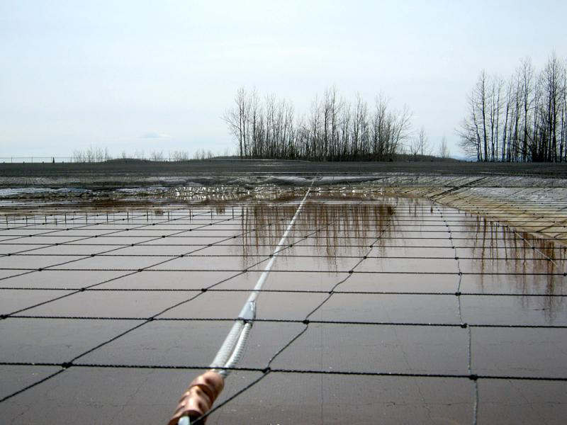 Frac Tank Amp Waste Pond Covers Smart Net Systems