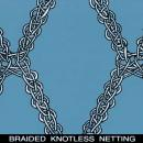 Knitted Raschel (Braided) type netting